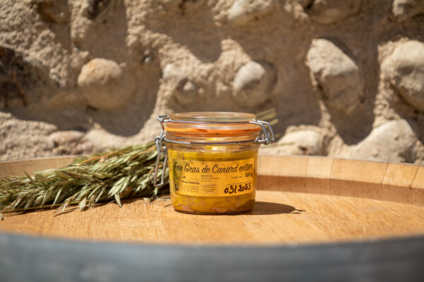 Foie gras de canard entier 320gr