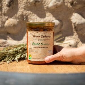 Poulet Gascon cuisiné façon Basquaise